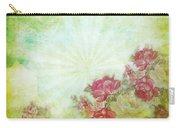 Flower Pattern On Paper Carry-all Pouch by Setsiri Silapasuwanchai