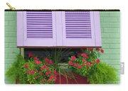 Flower Pot Window Carry-all Pouch