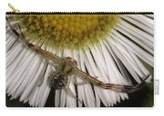 Flower Spider On Fleabane Carry-all Pouch