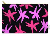 Flower Stars  Carry-all Pouch by Louisa Knight