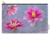 Flower Triplets Carry-all Pouch