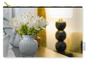 Flower Vase In Beautiful Interior Design Carry-all Pouch