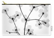 Flowering Dogwood, X-ray Carry-all Pouch