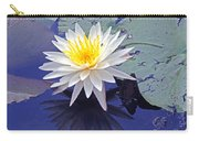Flowering Lily-pad- St Marks Fl Carry-all Pouch