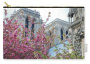 Flowering Notre Dame Carry-all Pouch