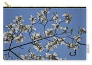 Flowering White Dogwood Carry-all Pouch