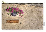 Flowers And A Signboard Carry-all Pouch