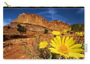 Flowers And Buttes Carry-all Pouch