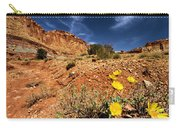 Flowers And Canyons Carry-all Pouch