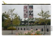 Flowers At Citi Field Carry-all Pouch by Rob Hans