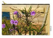 Flowers At The Dock Carry-all Pouch