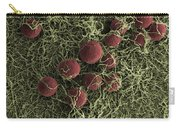 Flowers, Digital Streak Image Carry-all Pouch