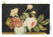Flowers In A Delft Jar  Carry-all Pouch