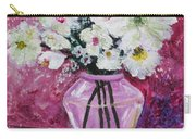 Flowers In A Magenta Room Carry-all Pouch