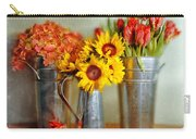 Flowers In Cans Carry-all Pouch