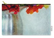 Flowers In Metal Pitcher Carry-all Pouch