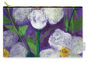 Flowers In Moonlight Carry-all Pouch
