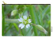 Flowers Of The Grass Carry-all Pouch