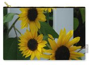 Flowers On A Fence Carry-all Pouch