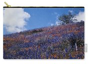 Flowers On A Hill Carry-all Pouch