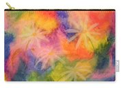 Flowers On Color Carry-all Pouch