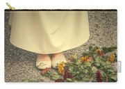 Flowers On The Street Carry-all Pouch by Joana Kruse
