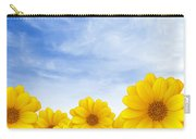 Flowers Over Sky Carry-all Pouch
