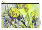 Flowery Abstraction Carry-all Pouch