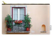 Flowery Balcony Carry-all Pouch by Carlos Caetano