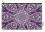 Flowery Snow Flake Carry-all Pouch