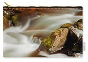 Flowing River Blurred Through Rocks Carry-all Pouch