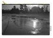 Flowing Water At Sunrise Carry-all Pouch