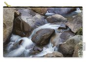 Flowing Water Down The Colorado St Vrain River Carry-all Pouch