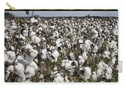 Fluffy White Cotton Bolls Carry-all Pouch