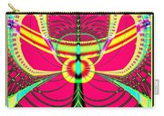 Fluorescent Butterfly Fractal 68 Carry-all Pouch
