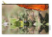 Fluttering Reflections - Butterfly Carry-all Pouch