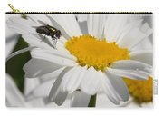 Fly In The Flower Carry-all Pouch