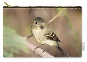 Flycatcher On A Branch Carry-all Pouch