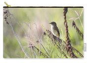 Flycatcher On A Twig Carry-all Pouch