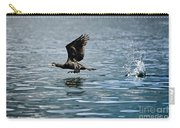 Flying Cormorant Bird Carry-all Pouch