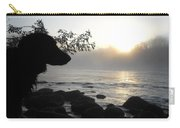 Fog On The Rocks Sunrise Carry-all Pouch