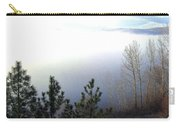 Fog On Wood Lake Carry-all Pouch