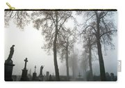 Foggy Cemetery Carry-all Pouch