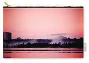 Foggy Pink Morning Carry-all Pouch