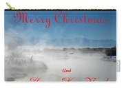 Foggy River Christmas Carry-all Pouch