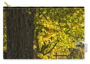 Foliage At The Cemetery Carry-all Pouch