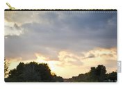 Follow The Tracks Carry-all Pouch by Carolyn Marshall
