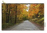 Follow The Yellow Leafed Road Carry-all Pouch