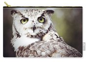 Followed Owl Carry-all Pouch