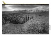 Font's Point Bush   Black And White Carry-all Pouch
